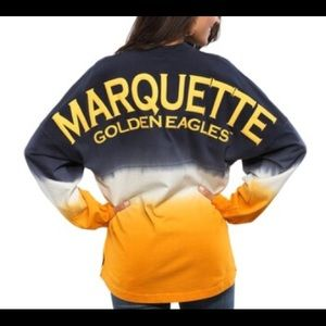 Yellow Marquette University Spirit Jersey